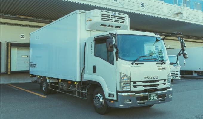 冷蔵冷凍車(4t)