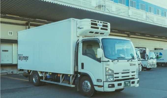 冷蔵冷凍車(3t)